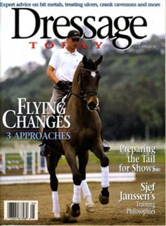 Fearless Flying Changes   Dressage Today