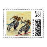 Halloween Spiders Madison Cycling Race Postage - Stamps