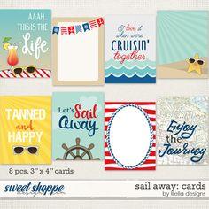 Sail Away: Cards by lliella designs