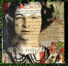 Michelle Caplan - Photo Transfer Collage on Canvas