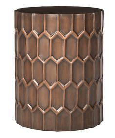 Another great find on #zulily! Copper Frazer Side Table #zulilyfinds