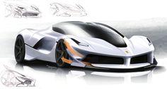 Automotive Design   Ferrari FXX Design (2015)