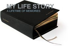 A Lifetime of Memories...I'd kinda like to buy this book and fill it out someday.