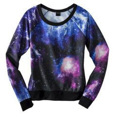 93f4ae8b09 Galactic Graphic Sweatshirt  This sweater is crazy and I need it so I can  have