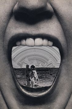 astro mouth by JonHiokiArt, via Flickr