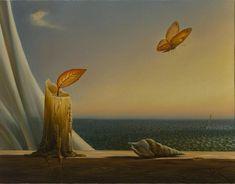 Born to Fly.   Vladimir Kush.
