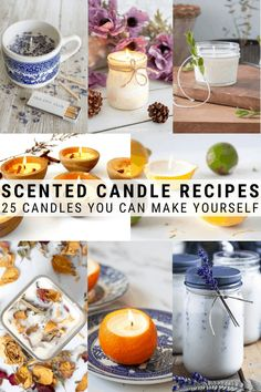 Wondering how to make DIY scented candles? Here are 25 great tutorial options for you that you can start making right now including soy candles beeswax candles mason jar candles citronella candles and more! Diy Candles Easy, Diy Candle Ideas, Diy Candles Soy Wax, Diy Candle Crafts, Diy Candle Projects, Making Beeswax Candles, Diy Candles With Crayons, Candle Gifts, Candle Art
