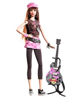 2006 Hard Rock Barbie® Doll | Barbie Collector, Designed by: Sharon Zuckerman Release Date: 12/1/2006 Product Code: K7906, $34,95 Orginal Price