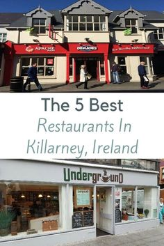 Killarney is a small town in Ireland, it may be small but has some of the best places to eat. That is why we put together this guide on ' The 5 Best Restaurants In Killarney, Ireland'. Europe Travel Tips, Travel Guides, Travel List, European Travel, Solo Travel, Travel Destinations, Scotland Travel, Ireland Travel, Scotland Trip