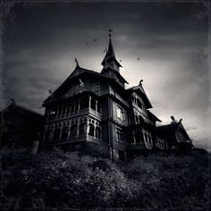 Every house could be a haunted house. Someone could give ghost tours to the kids!