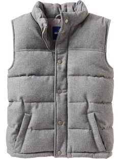 Old Navy | Men's Quilted Tweed Vests (Got this is black!)