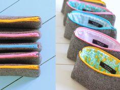 Wool purses