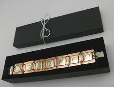 Oryginalna bransoletka z miedzi, srebra i mosiądzu  http://oryginalna-bizuteria.pl/opis/2555526/efektowna-bransoletka-tricolor.html
