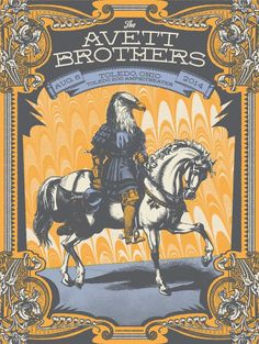 Status Sergraph Avett Brothers Toledo Poster & A Whole Lot More