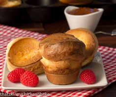 Perfect Popovers from Dorie Greenspan Baking With Coconut Flour, Almond Flour Recipes, Brunch Recipes, Dessert Recipes, Breakfast Recipes, Baking With Julia, Chicke Recipes, Delicious Desserts, Yummy Food