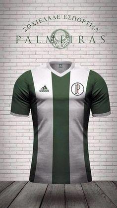 5a366fd005 17 camisas do Palmeiras desenhadas por torcedores que poderiam ser  oficializadas