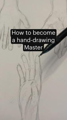 How to become a hand-drawing  Master