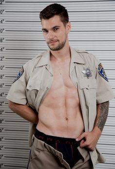 Cop Uniform, Police Uniforms, Men In Uniform, Hot Cops, Motorcycle Men, Shy Guy, Extraordinary People, Sexy Shirts, The Hard Way