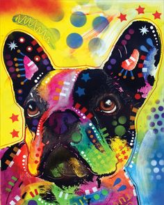 French Bulldog 2 Art Print at AllPosters.com