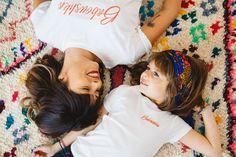 Folk Style en look Mum&Girl   #teeshirt#broderie#collection#baboushka#love