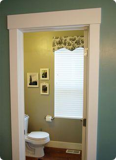 Easy Window Box Covering / Pelmet Box