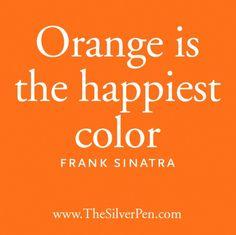 Love me some orange!