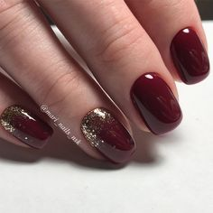 Newest Burgundy Nails Designs You Should Definitely Try in 2017 ★ See more: http://glaminati.com/burgundy-nails-designs/