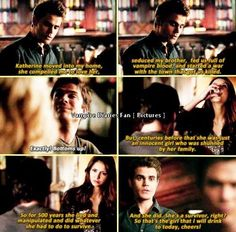 Season 5 Episode 11: Damon and Stefan