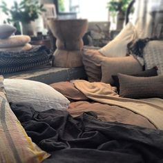Linen and cashmere love