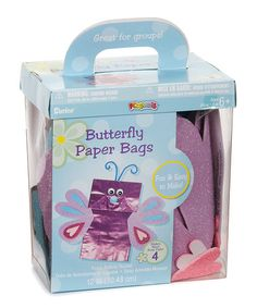 Take a look at this Foam Paper Bag Butterfly Puppet Kit by Darice on #zulily today! $7 !!