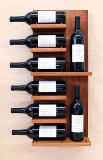 Floating wine wall shelf www.handyman-goldcoast.com                                                                                                                                                                                 More