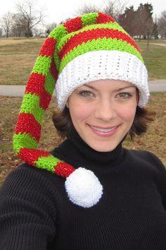 Silly Simple Elf Hat crochet pattern