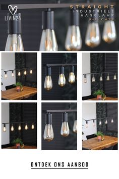 De hanglamp Straight 5-lichts heeft een modern en minimalistisch design! Door zijn strakke design is de lamp perfect te plaatsen in zowel een industrieel, modern als minimalistisch interieur! Minimalist Decor, Minimalist Design, Modern Pendant Light, Home Office Decor, Home Decor, Bathroom Organization, Pendant Lamp, Light Bulb, Lights
