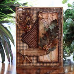 Masculine Card Classic Nature 1 by Jerri Kay - Cards and Paper Crafts at Splitcoaststampers