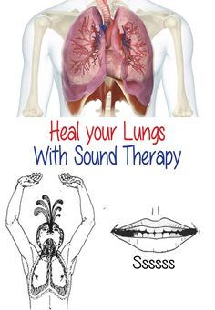 Negative emotions are stored in the body's organs. Over time, the accumulation of the negativity erodes the organs health and effects the person s disposition. Fear is stored in the lungs. The lung sound transforms fear into courage. Position: Sit on the edge of your chair with feet shoulder length apart. Place hands palms-up on your thighs.