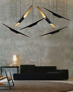 10 lustres pour avoir un salon moderne | Magasins Déco | http://magasinsdeco.fr/10-lustres-pour-avoir-un-salon-moderne/