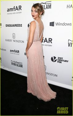 Sarah Hyland & Zendaya Glam Up for the amfAR Inspiration Gala!: Photo #886750. Sarah Hyland and Zendaya keep it chic and sophisticated on the black carpet while attending the 2015 amfAR Inspiration Gala Los Angeles held at Milk Studios on Thursday…