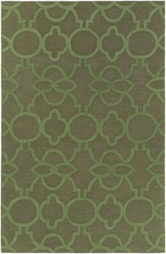 Marigold MRG-6020 Olive Green Contemporary Rug