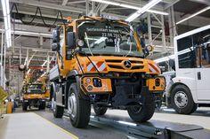 Mercedes-Benz #Unimog Euro VI #mbhess #mbtrucks