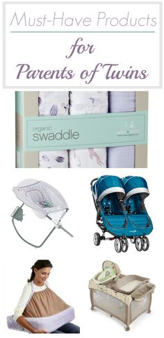 Must-Have Products for Parents of Twins recommended by parents of twins. If you are expecting twins any time soon, this comprehensive list will tell you the most important items you'll need to put on your registry. Visit sarahinthesuburbs.com to find out more!
