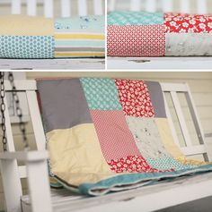 how to make your first quilt - no time like the present to try! :)
