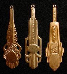 Art Deco Jewelry Findings