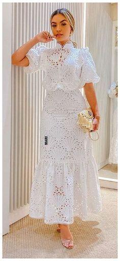 Elegant White Dress, Elegant Dresses, Casual Dresses, Lace Dress Styles, Short Lace Dress, Lace Skirt, African Wear Dresses, Latest African Fashion Dresses, African Lace Styles
