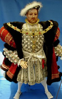 Henry VIII of England 1491-1597 by Lady Finavon.  He was the 2nd son of Henry VII and Elizabeth of York.  His quest for a male heir and the need to re-marry to do so, led him to bring about the English Reformation (including the creation of the Church of England as well as the Dissolution of the Monasteries) and his notoriety in marrying six times.