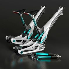 incredible ebike frame design with hidden rear shock - Before After DIY Velo Design, Bicycle Design, Electric Bicycle, Electric Cars, E Bicycle, Hardtail Mountain Bike, Mountain Biking, Motorcycle Equipment, Bicycle Workout
