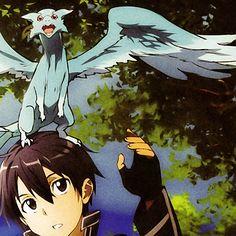 Sword art online, Kirito and Pina