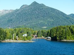 You'll see this mountain scenery on the outskirts of Ketchikan along the Inside Passage as we ride the Alaska Marine Highway. Yes, a ferry ride was part of our Alaska Highway road trip. #YukonHo!
