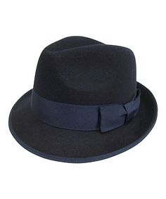 4800b89f213 Downtown Style Navy Classic Felted Wool Fedora. Felted WoolWool FeltWedding  HatsThat LookAsiaWool ...