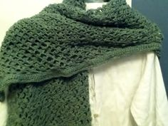 Lacy Wrap in Green Thread by Naturally Lilly's on Etsy, $30.00