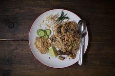 Authentic pad thai recipe turned vegan Vegan Vegetarian, Vegetarian Recipes, Vegan Pad Thai, Tamarind Paste, Rice Noodles, Rice Vinegar, Thai Recipes, Vegans, Tofu